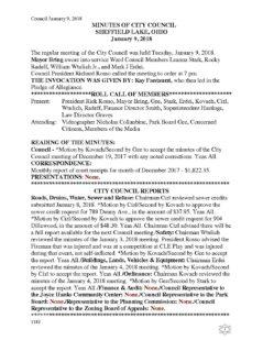Safety Meeting @ Sheffield Lake Council Chambers | Sheffield Lake | Ohio | United States